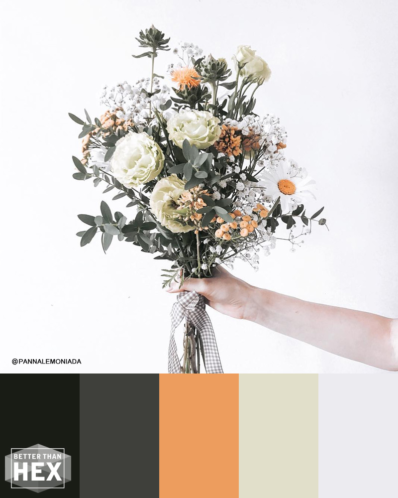 Bouquet Color Palette