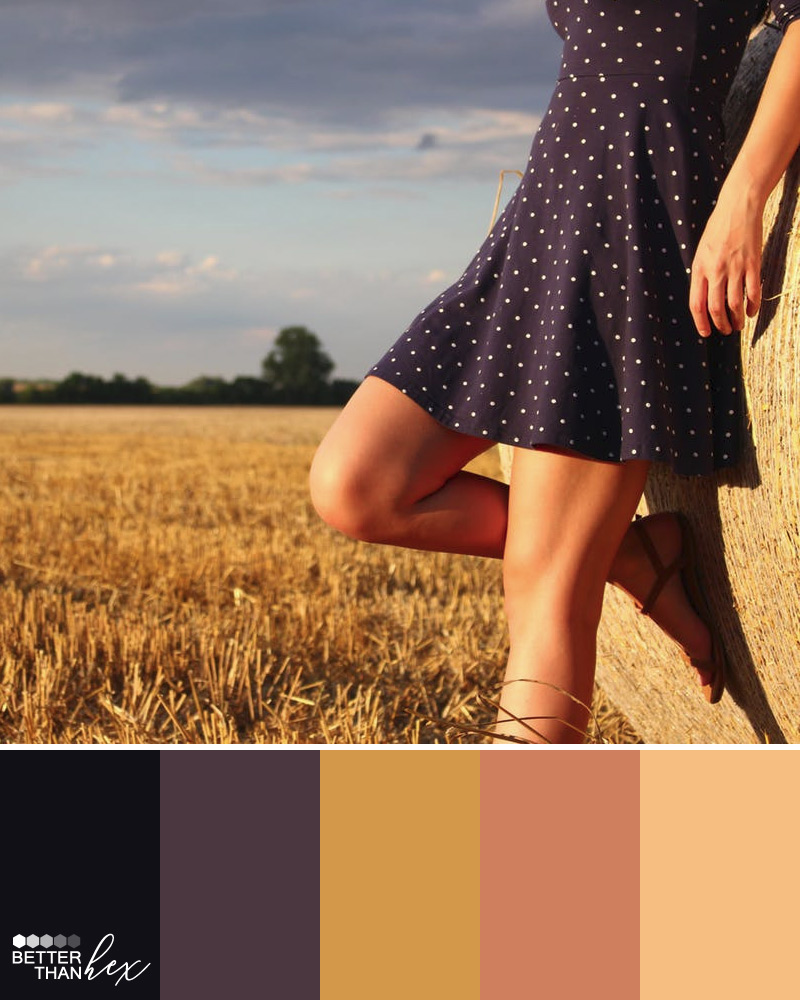 Golden Hour Color Palette