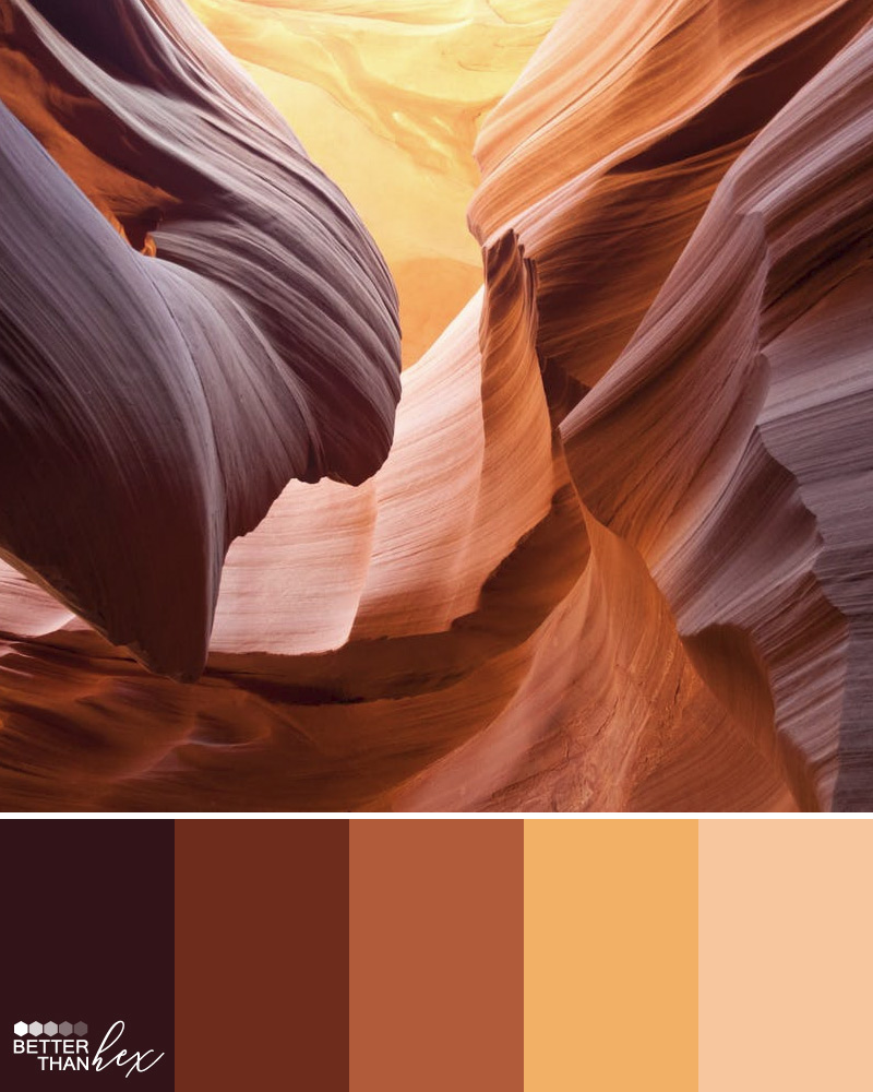 Sand Color Palette