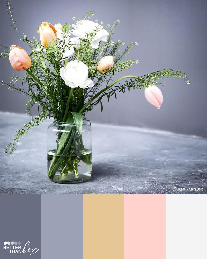 Floral Color Palette