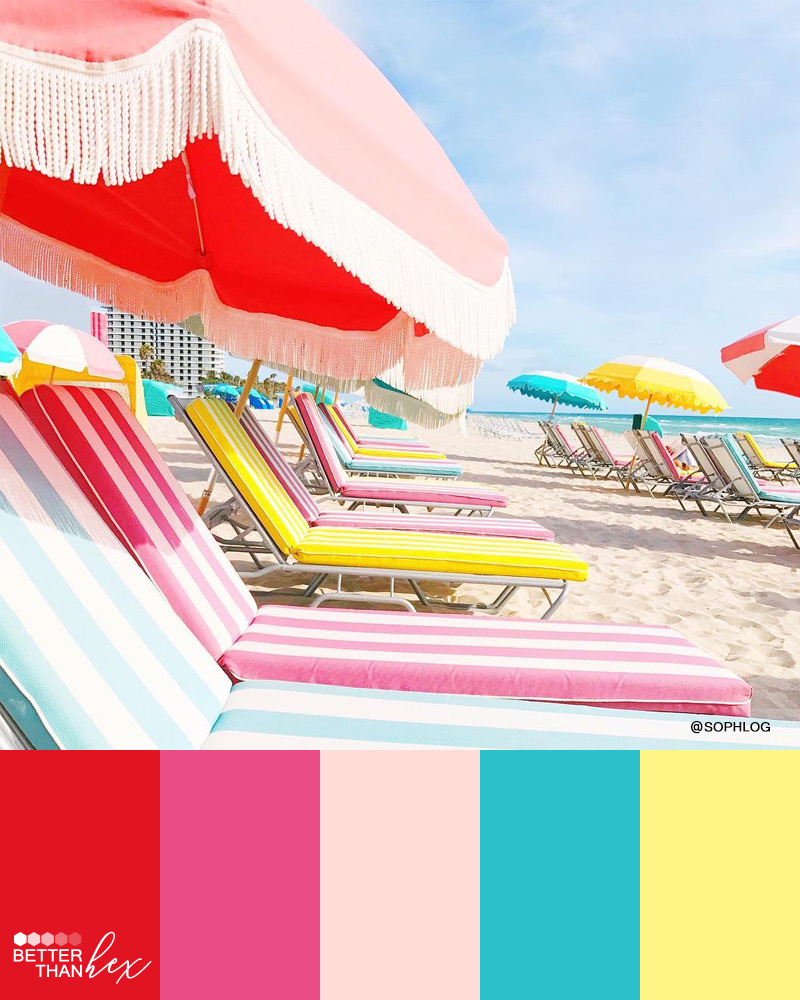 Summer Vibes Color Palette
