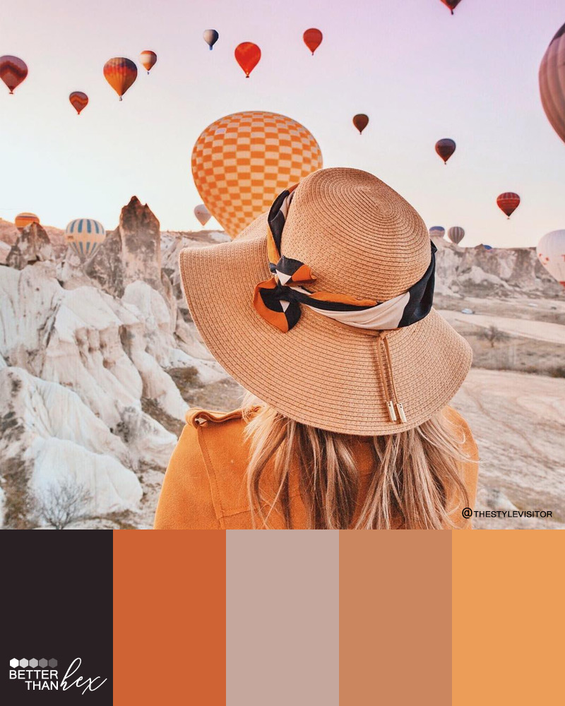 Orange Toned Palette