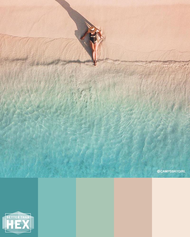 Ocean Tide Color Palette