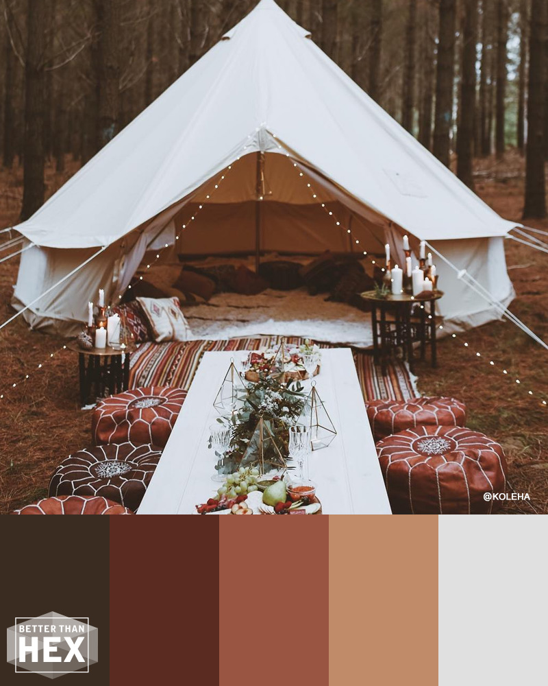 Rust Color Palette