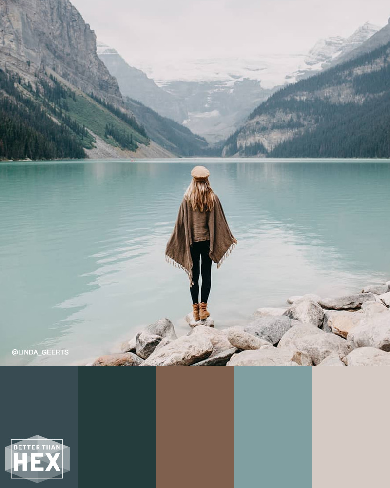 Lake Louise Color Palette