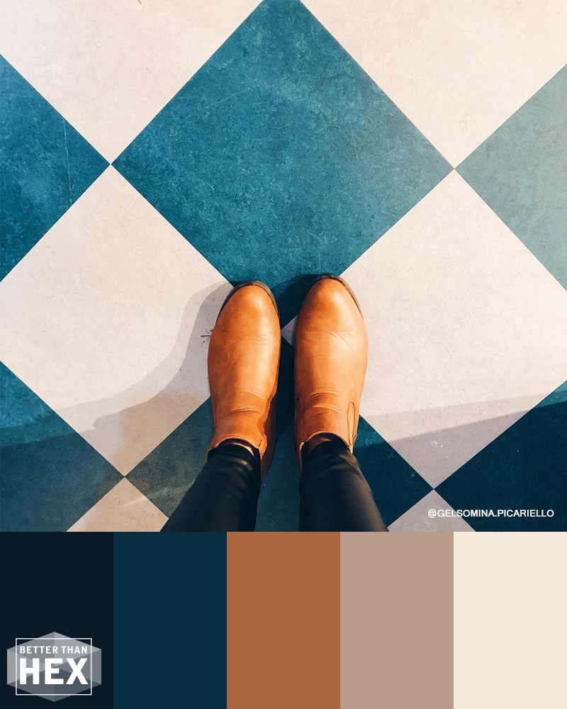 Tan Boots Color Palette
